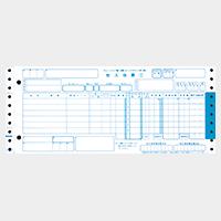 チェーンストア統一伝票 ターンアラウンドI型 1000セット/箱