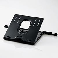 ノートPCスタンド/折りたたみ8段階/ブラック [PCA-LTS8BK]