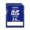 SDHCメモリーカード 16GB Class4対応