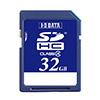 SDHCメモリーカード 32GB Class4対応