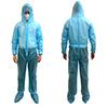 不織布一層タイプ防護服 フリーサイズ(50枚)