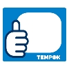 TEMPOK プレ印刷ラベル標準タイプ 65×55mm ブルー 1100枚1巻 [TPK-L6555B]